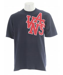 Vans Stadium Way T-Shirt Navy/Red
