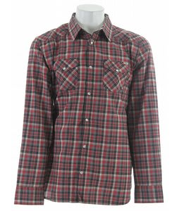 Vans Staggolee L/S Shirt Rio Red Plaid