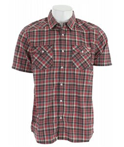 Vans Staggolee Shirt Rio Red Plaid