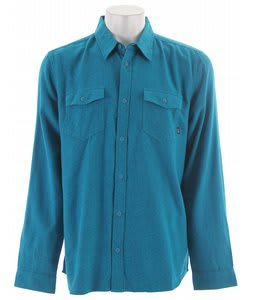 Vans Steadfast Shirt Aquamarine/Black