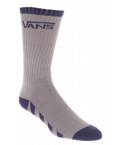 Vans Striped Crew Socks Grey