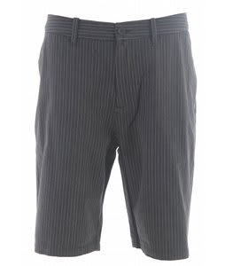Vans Suitable 22 Shorts Charcoal Pinstripe