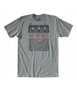 Vans This One Goes To 11 T-Shirt Rock Grey Heather