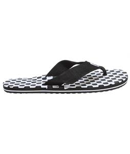 Vans Thresher Sandals (Checkerboard) Black/White/Black