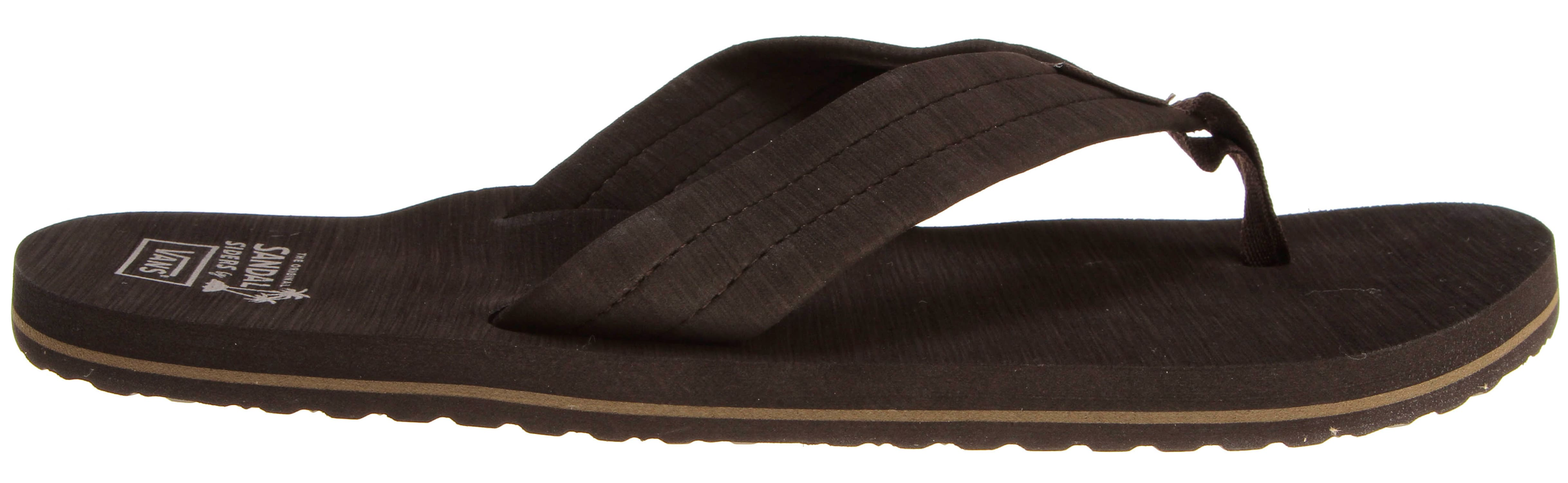 Shop for Vans Thresher Sandals Coffee/Shitake/Coffee - Men's