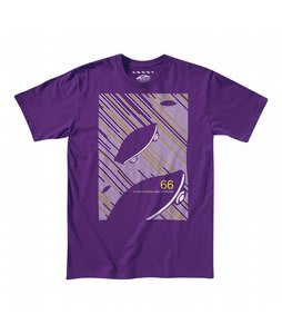 Vans Time And Space T-Shirt Purple