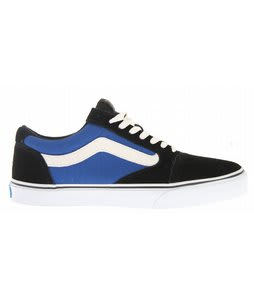 Vans TNT 5 Skate Shoes Black/Royal/White