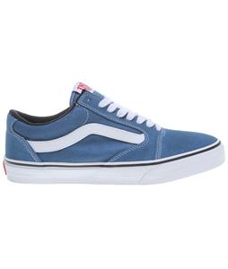 Vans TNT 5 Skate Shoes Blue/White