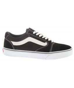 Vans TNT 5 Skate Shoes Black/White