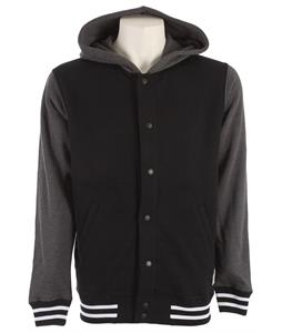 Vans University Jacket Black/New Charcoal Heather