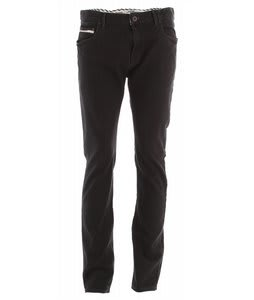 Vans V76 Skinny Jeans Overdye Black