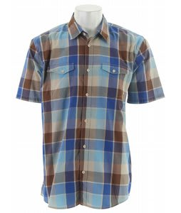 Vans Vernon S/S Shirt Reaction Blue