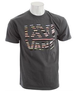 Vans Wood Grain T-Shirt Charcoal