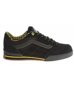 Vans Wylie Bike Shoes (Colony) Black/Yellow