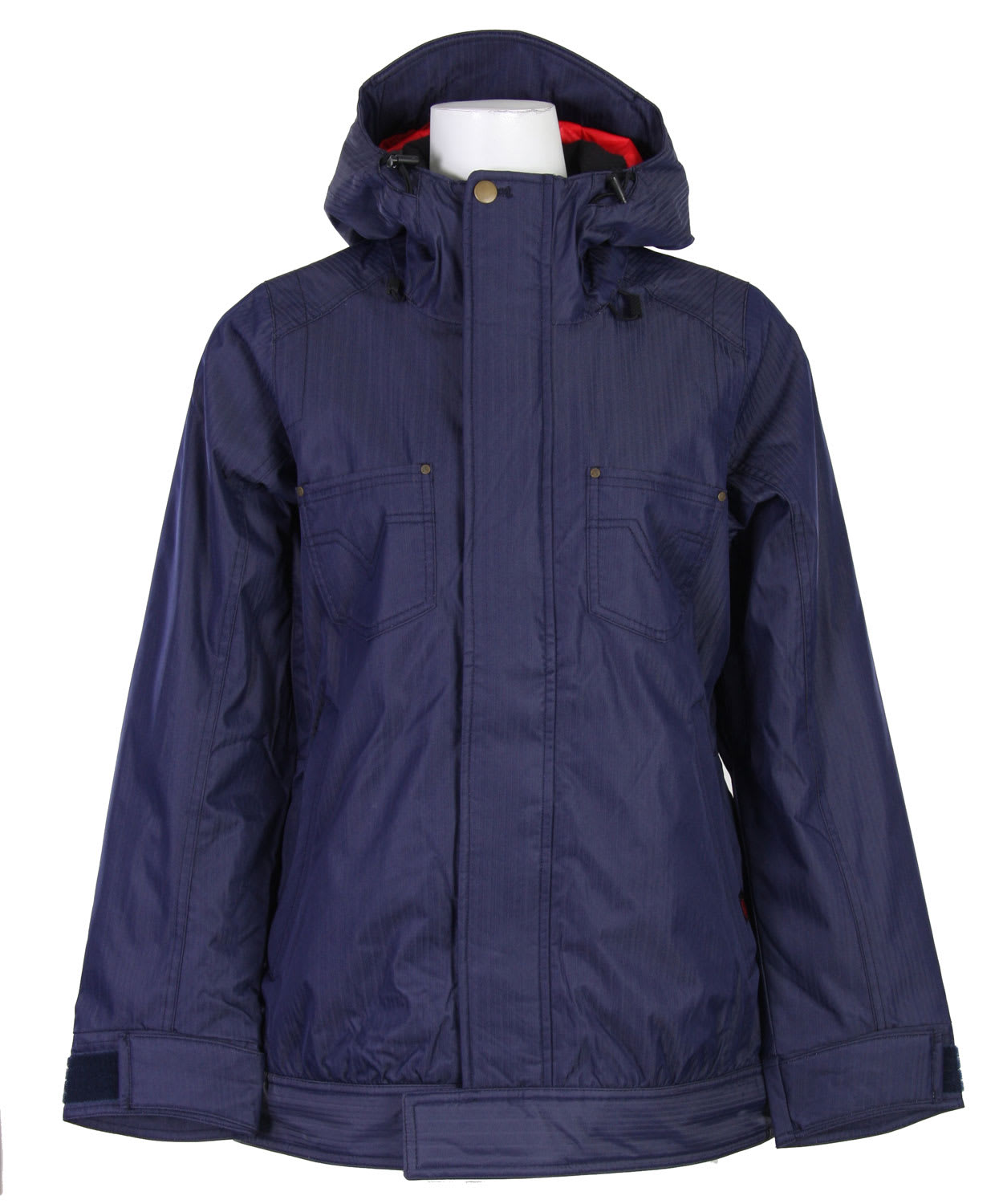 Shop for Vans Zissou Insulated Snowboard Jacket Peacoat - Women's
