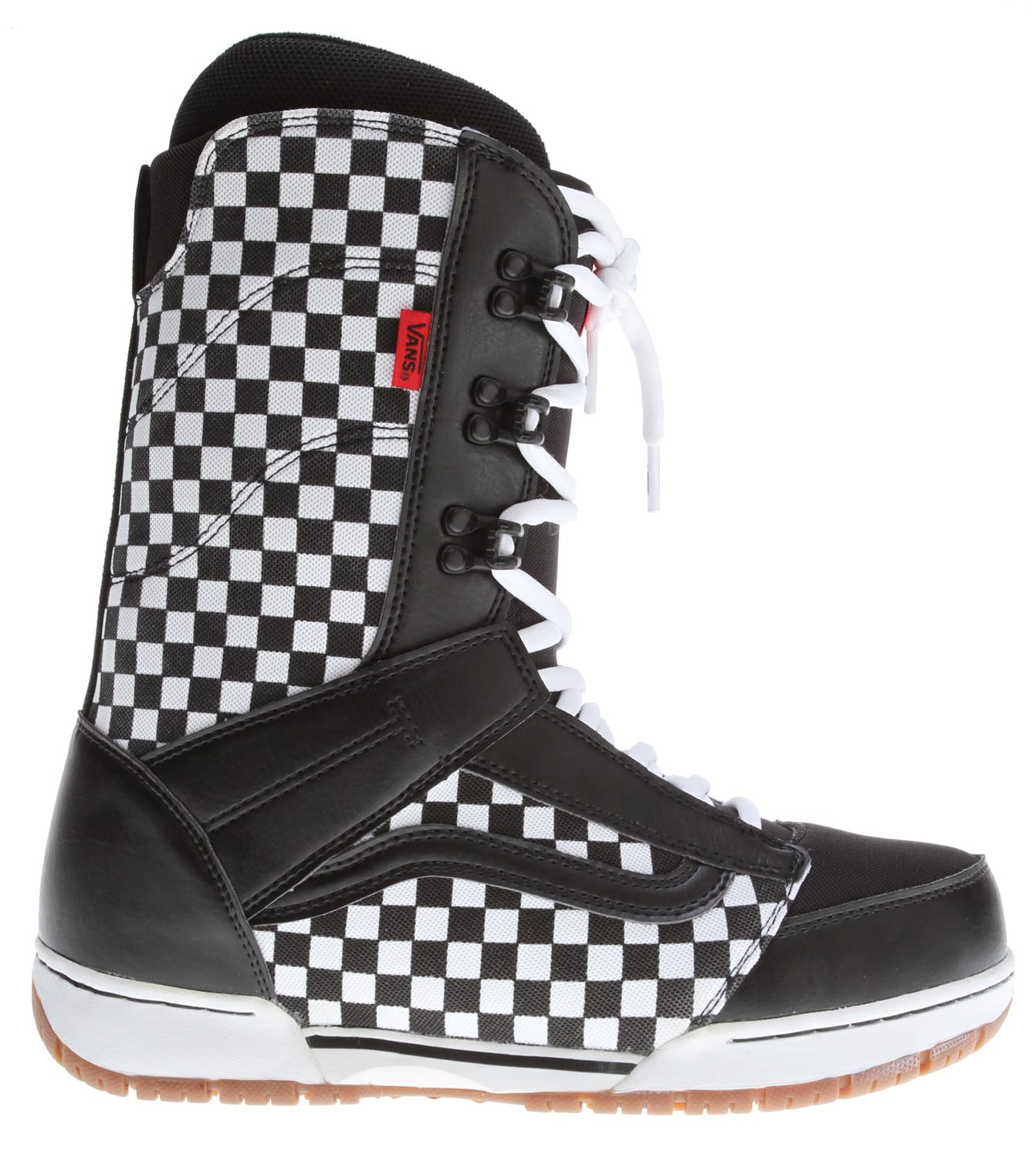 Vans Mantra Snowboard Boots Black/Checker - Men's