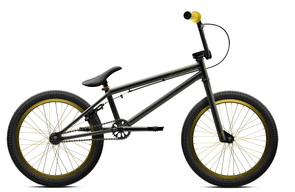 Black And Gold Bmx Bike