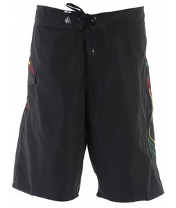 Volcom 2Eez Solid Boardshorts Black