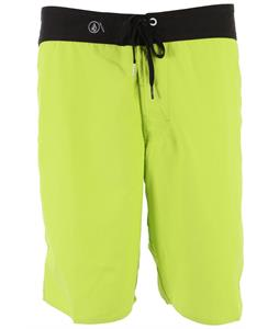 Volcom 38Th St Boardshorts Lime Paint