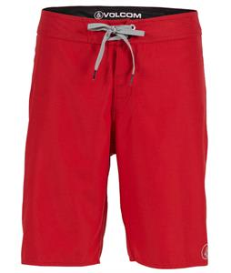 Volcom 38th St Boardshorts Red
