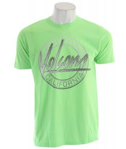Volcom 80'S Art T-Shirt Neon Mint Heather