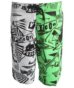 Sale Vol Annihilator Reverse Boardshorts up to  off #2: vol annihilator reverse boardshort neon grn 13 prod