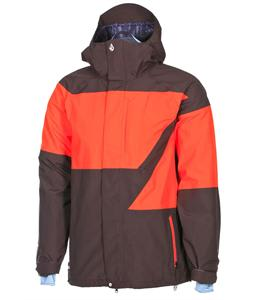 Volcom Atlantic Storm Gore-Tex Snowboard Jacket Brown