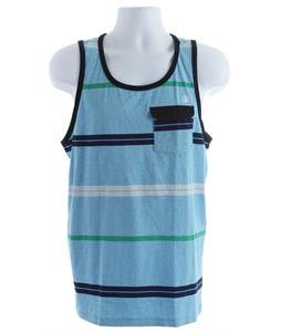 Volcom Avenida Marled Pocket Tank Arctic Blue