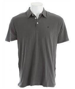 Volcom Bangout Slub Polo Shadow Grey