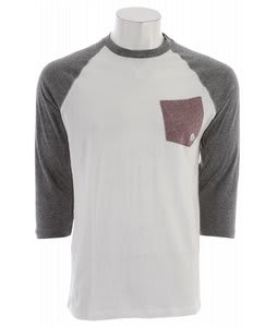 Volcom Base Line 3/4 Sleeve Raglan Black