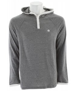 Volcom Base Line L/S Hooded Raglan Black