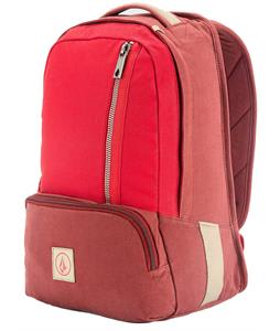 Volcom Basis Canvas Backpack Burgundy 20L