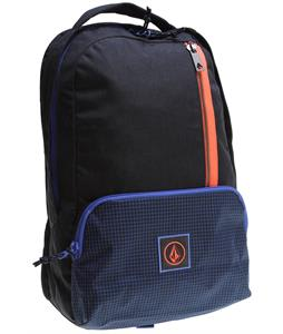 Volcom Basis Polyester Backpack Blue Black 20L