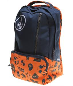 Volcom Basis Polyester Backpack Dark Navy 20L