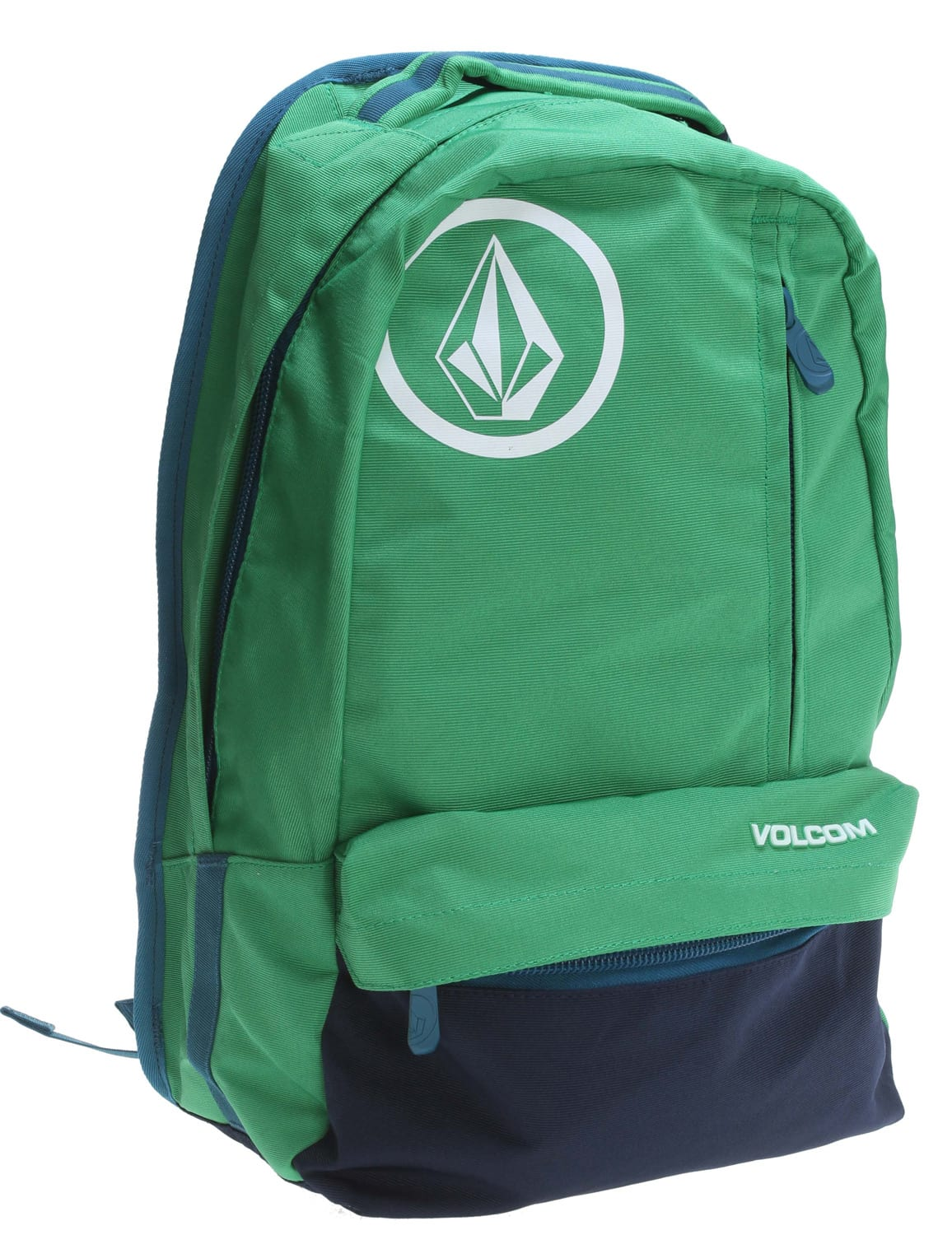 Volcom Basis Solid Polyester Backpack Green 18L
