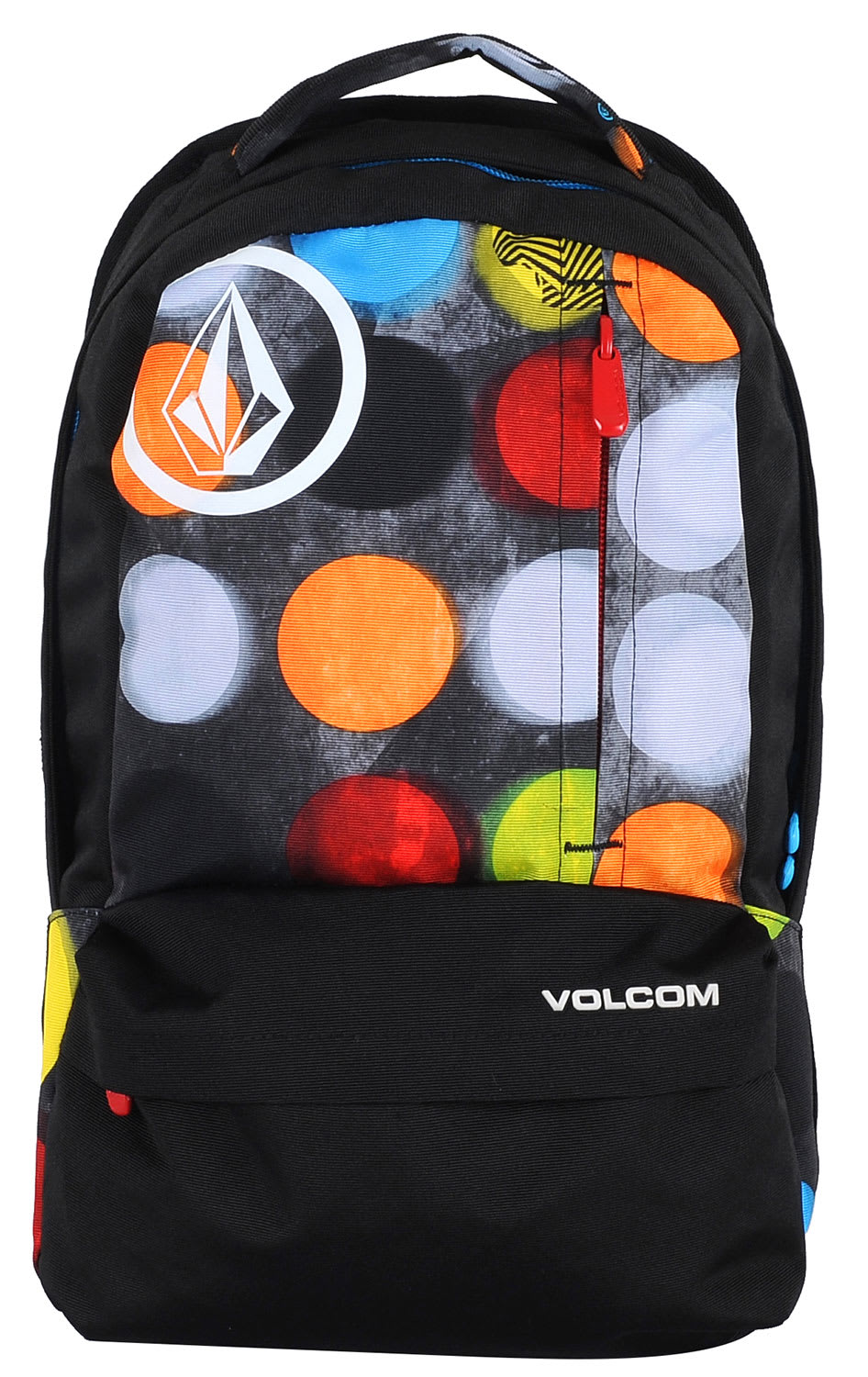 Volcom Basis Printed Polyester Backpack Dot Mess 18L
