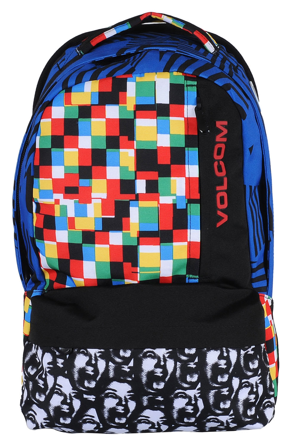 Volcom Basis Printed Polyester Backpack Mix 18L
