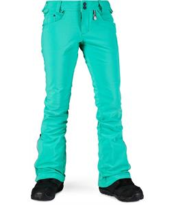 Volcom Battle Stretch Snowboard Pants Island Green