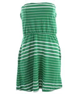 Volcom Between Lines Dress Island Green