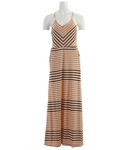 Volcom Between Lines Maxi Dress Bellini Peach