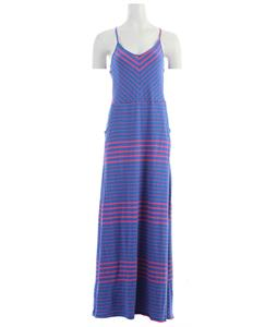 Volcom Between Lines Maxi Dress Royal