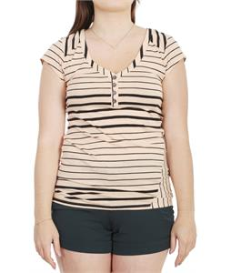 Volcom Between Lines Shirt Bellini Peach
