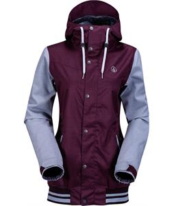 Volcom Billie Snowboard Jacket Burgundy