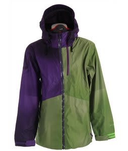 Volcom Bjorn 3-Layer Snowboard Jacket Purple Paint