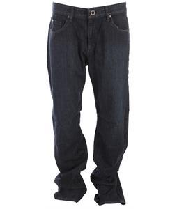 Volcom Blackbart Jeans Wrecked Indigo