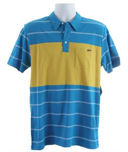 Volcom Blackout Stripe Polo Shirt Atlantic