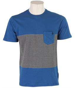 Volcom Blakely Crew Shirt Marina Blue