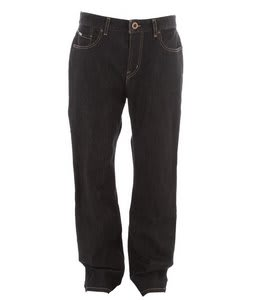 Volcom Black Bart Jeans Black Rinser