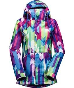 Volcom Bolt Ins Snowboard Jacket Blue Combo