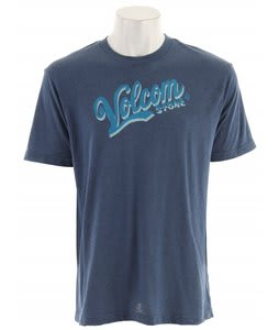 Volcom Bonafide Heather T-Shirt Blue Moon Heather